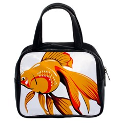Goldfish Fish Tank Water Tropical Classic Handbags (2 Sides)