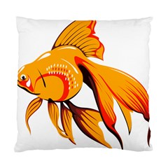 Goldfish Fish Tank Water Tropical Standard Cushion Case (two Sides) by Sapixe