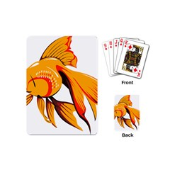 Goldfish Fish Tank Water Tropical Playing Cards (mini)
