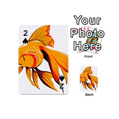 Goldfish Fish Tank Water Tropical Playing Cards 54 (mini)