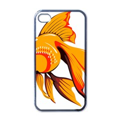 Goldfish Fish Tank Water Tropical Apple Iphone 4 Case (black)