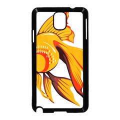 Goldfish Fish Tank Water Tropical Samsung Galaxy Note 3 Neo Hardshell Case (black) by Sapixe