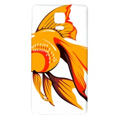 Goldfish Fish Tank Water Tropical Samsung Note 4 Hardshell Back Case