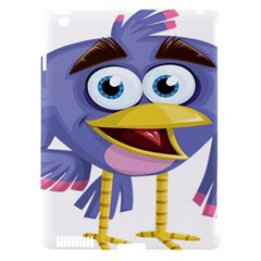 Bird Violet Beak Feather Fun Apple Ipad 3/4 Hardshell Case (compatible With Smart Cover) by Sapixe