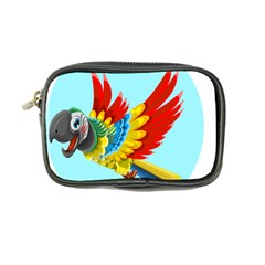 Parrot Animal Bird Wild Zoo Fauna Coin Purse