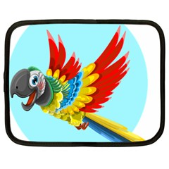 Parrot Animal Bird Wild Zoo Fauna Netbook Case (xxl)