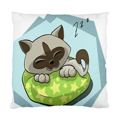 Kitten Kitty Cat Sleeping Sleep Standard Cushion Case (one Side)
