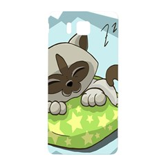 Kitten Kitty Cat Sleeping Sleep Samsung Galaxy Alpha Hardshell Back Case by Sapixe