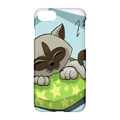 Kitten Kitty Cat Sleeping Sleep Apple Iphone 7 Hardshell Case