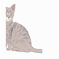 Kitten Cat Drawing Line Art Line Large Garden Flag (two Sides) by Sapixe