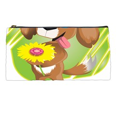 Dog Character Animal Flower Cute Pencil Cases by Sapixe