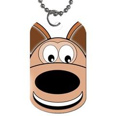 Doh Puppy Happy Pet Hound Animal Dog Tag (one Side)