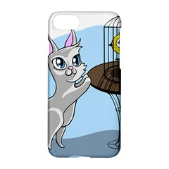 Cat Bird Cage Hunt Hunting Pet Apple Iphone 8 Hardshell Case