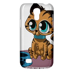 Kitty Cat Big Eyes Ears Animal Samsung Galaxy S4 Mini (gt I9190) Hardshell Case