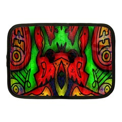 Faces Netbook Case (medium)