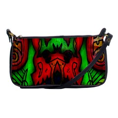 Faces Shoulder Clutch Bags by MRTACPANS