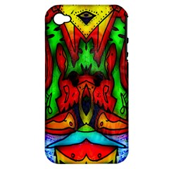 Faces Apple Iphone 4/4s Hardshell Case (pc+silicone)