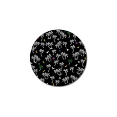 Tropical Pattern Golf Ball Marker by Valentinaart