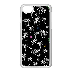 Tropical Pattern Apple Iphone 7 Seamless Case (white) by Valentinaart
