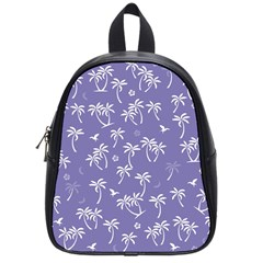Tropical Pattern School Bag (small) by Valentinaart