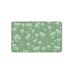 Tropical Pattern Magnet (name Card) by Valentinaart