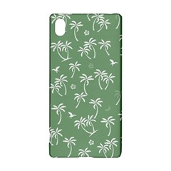 Tropical Pattern Sony Xperia Z3+ by Valentinaart
