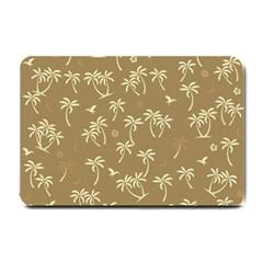 Tropical Pattern Small Doormat  by Valentinaart