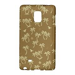 Tropical Pattern Samsung Galaxy Note Edge Hardshell Case
