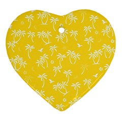Tropical Pattern Ornament (heart)