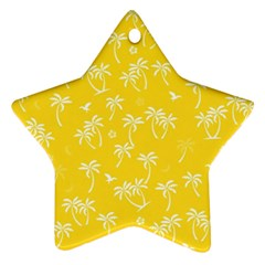 Tropical Pattern Ornament (star) by Valentinaart