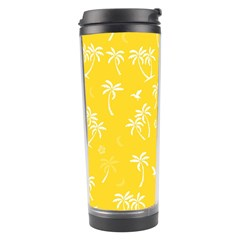 Tropical Pattern Travel Tumbler by Valentinaart