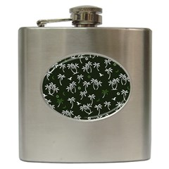 Tropical Pattern Hip Flask (6 Oz)