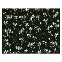 Tropical Pattern Rectangular Jigsaw Puzzl