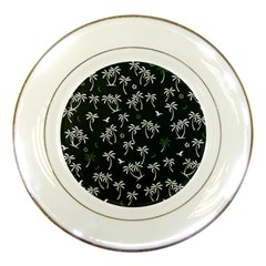 Tropical Pattern Porcelain Plates