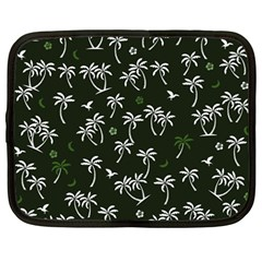 Tropical Pattern Netbook Case (large)