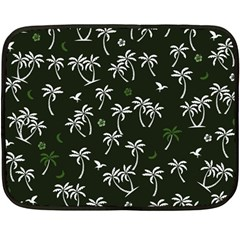 Tropical Pattern Fleece Blanket (mini)