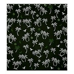 Tropical Pattern Shower Curtain 66  X 72  (large)
