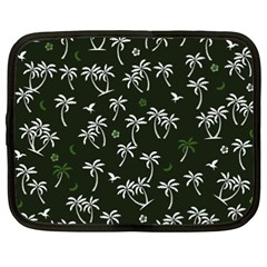 Tropical Pattern Netbook Case (xxl)