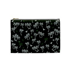 Tropical Pattern Cosmetic Bag (medium)