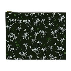 Tropical Pattern Cosmetic Bag (xl)