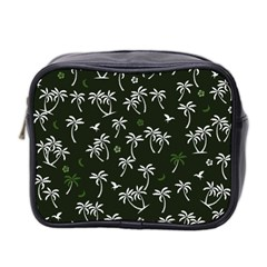 Tropical Pattern Mini Toiletries Bag 2 Side