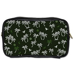 Tropical Pattern Toiletries Bags