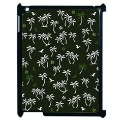 Tropical Pattern Apple Ipad 2 Case (black)