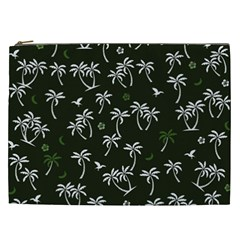 Tropical Pattern Cosmetic Bag (xxl)
