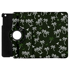 Tropical Pattern Apple Ipad Mini Flip 360 Case