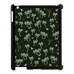 Tropical Pattern Apple Ipad 3/4 Case (black)