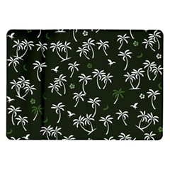 Tropical Pattern Samsung Galaxy Tab 10 1  P7500 Flip Case