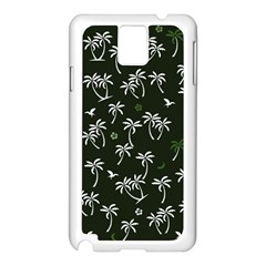 Tropical Pattern Samsung Galaxy Note 3 N9005 Case (white)