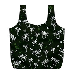 Tropical Pattern Full Print Recycle Bags (l)