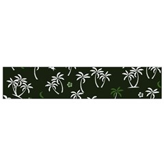 Tropical Pattern Small Flano Scarf